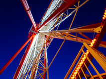 Ferris wheel in Kharkov. A low angle of the Ferris wheel in Kharkov, Ukraine Stock Photos