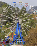 Ferris wheel in khosta district of the greater sochi Stock Photos