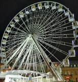 Ferris wheel in Kiev royalty free stock photos