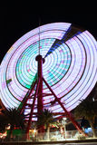 Ferris Wheel in Kobe Japan spinning Stock Images