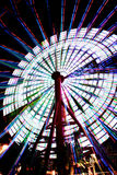 Ferris Wheel in Kobe Japan spinning 2 Stock Photos