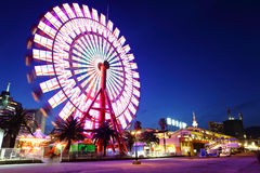 Ferris wheel in Kobe Stock Images