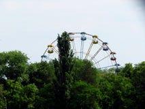 Ferris wheel . Kremenchug. Royalty Free Stock Images