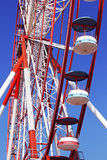 Ferris Wheel Perspective Royalty Free Stock Images