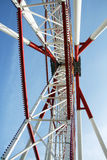 Ferris Wheel Perspective Stock Photo