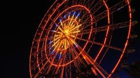 Ferris Wheel Lights At Night metrajes
