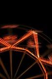 Ferris wheel lights Royalty Free Stock Photos