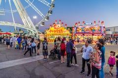 Ferris Wheel Line royalty free stock photography