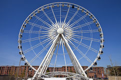 The Ferris Wheel of Liverpool Royalty Free Stock Images
