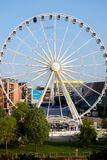 Ferris Wheel in Liverpool UK Stock Images