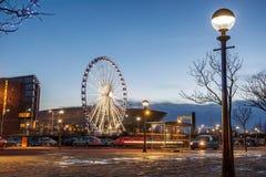 Ferris Wheel Liverpool stock photos