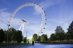 Ferris, Wheel, London Royalty Free Stock Photo