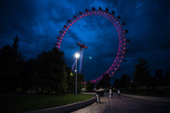 Ferris Wheel at London Royalty Free Stock Images