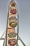Ferris Wheel. Looking up at a Ferris wheel Stock Photography