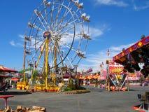 Ferris Wheel, Los Angeles County justo, Fairplex, Pomona, Califórnia Foto de Stock Royalty Free
