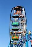 Ferris wheel in Luna Park Scarborough Royalty Free Stock Photos