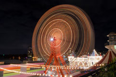 Ferris wheel in Luna Park Sydney, Australia stock photos