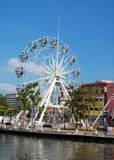 Ferris wheel in Malacca City Royalty Free Stock Images