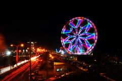 Ferris Wheel Manila photo libre de droits