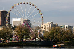 Ferris Wheel in Melbourne, Australia Royalty Free Stock Photo