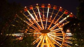 Ferris wheel. In Minsk, Full HD stock footage