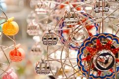 Ferris Wheel Model Fotografía de archivo libre de regalías