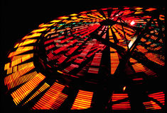 Ferris Wheel in motion Royalty Free Stock Images