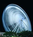 Ferris Wheel in motion Stock Photo