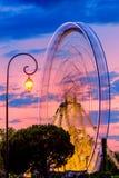 Ferris wheel in motion Royalty Free Stock Photos