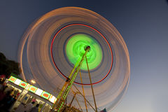 Ferris wheel with motion blur Stock Photos
