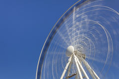 Ferris wheel in motion Royalty Free Stock Photos