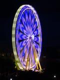 Ferris Wheel nachts I Lizenzfreie Stockbilder