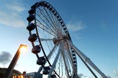 Ferris Wheel Navy Pier Royaltyfria Foton
