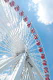 Ferris wheel in Navy pier, Chicago Royalty Free Stock Image