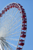 Ferris wheel in Navy pier, Chicago Royalty Free Stock Photos