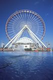 Ferris Wheel, Navy Pier, Chicago, Illinois Royalty Free Stock Image