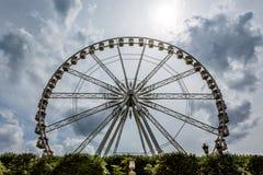 Ferris Wheel near Place de la Concorde, Paris Stock Images