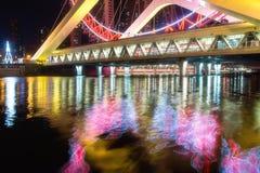 Ferris Wheel At Night Lizenzfreie Stockfotografie