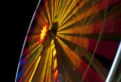 Ferris Wheel at night Stock Photography
