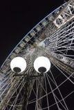 Ferris wheel by night Stock Image