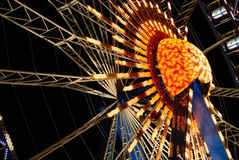 Ferris wheel night Royalty Free Stock Photo