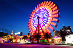 Ferris Wheel At Night Immagine Stock Libera da Diritti
