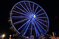 Ferris wheel at night Royalty Free Stock Image