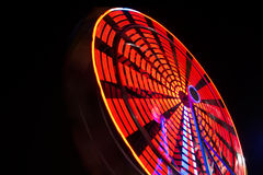 Ferris Wheel At Night Foto de Stock Royalty Free
