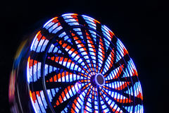 Ferris Wheel At Night Fotografia de Stock Royalty Free