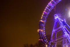 Ferris Wheel At Night Immagini Stock