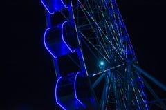 Ferris Wheel At Night Fotografia de Stock