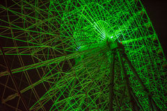 Ferris Wheel At Night Foto de archivo