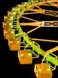 Ferris Wheel at night. Amusement park series Stock Images