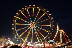 Ferris wheel at night Stock Image